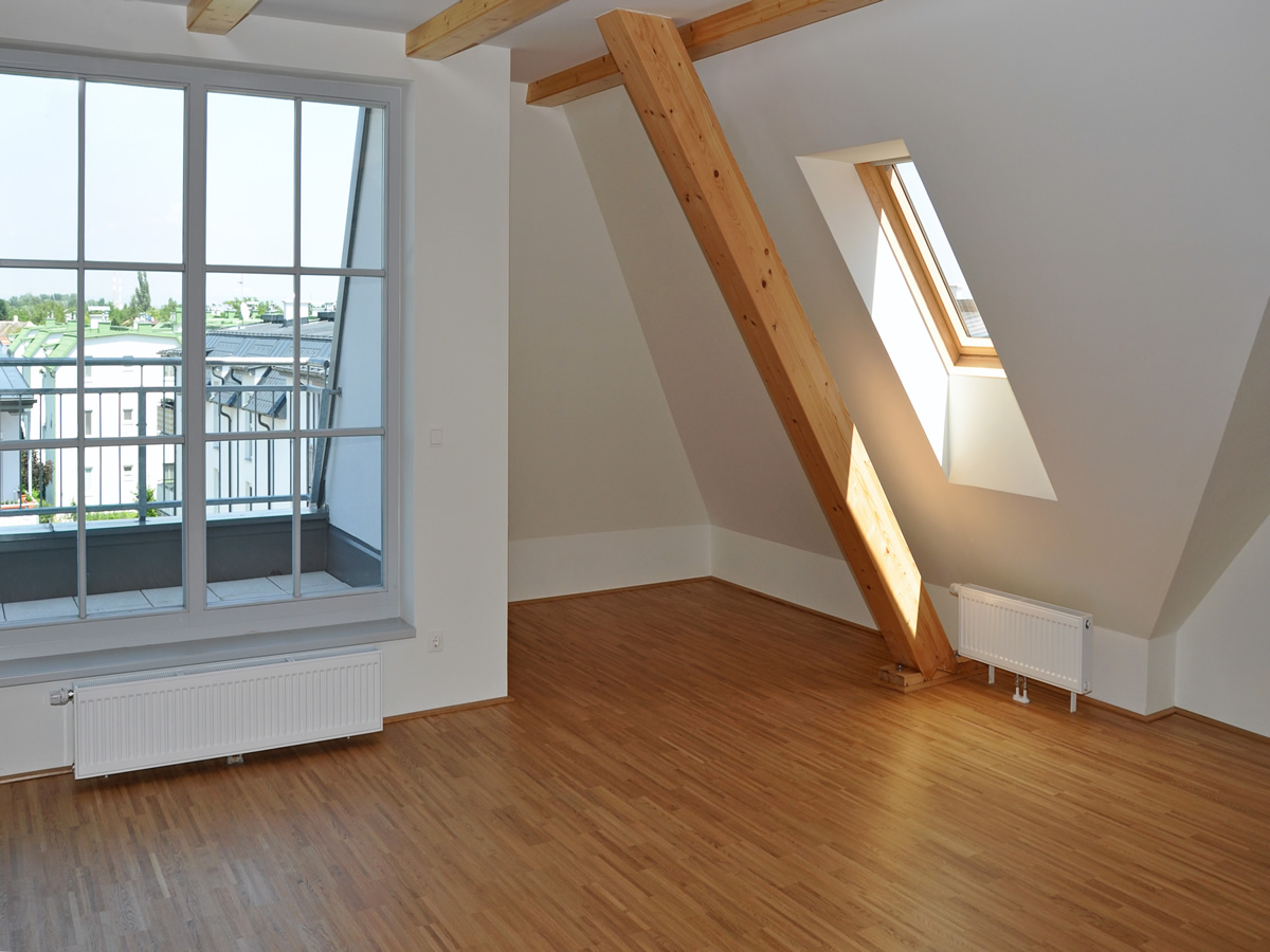 complete 3rd floor room loft-attic conversion
